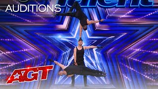 Early Release: Rialcris Delivers Incredible Hand Balancing - America's Got Talent 2021