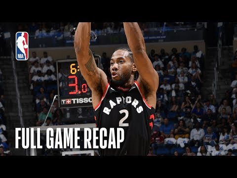 RAPTORS vs MAGIC | Kawhi Leonard Drives Toronto to 3rd Straight W | Game 4