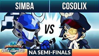 Simba vs Cosolix - Semi-Finals - Winter Championship NA 1v1 Top 8