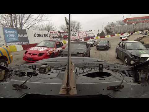200 LAP ASPHALT RACING! REAR ROOF CAM #55