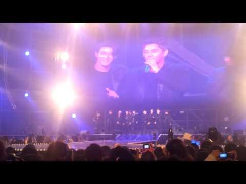 121021 SJ GS Concert talk + Eunhyuk sexy dance!!!!
