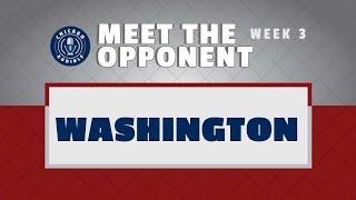 Meet the Opponent: Washington (with Mitch Tischler of NBC Sports)