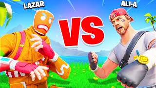 *NEW* LAZARBEAM challenged me to a 1v1! (IT WAS EPIC)