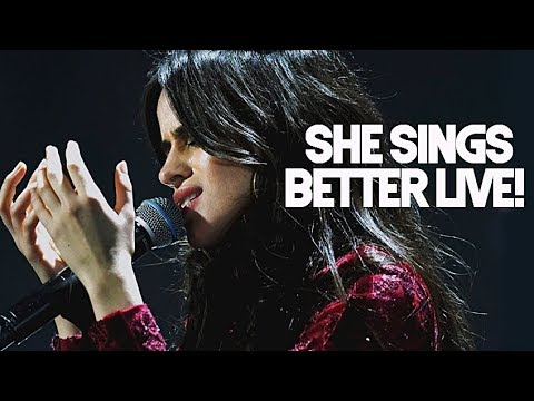 Times Camila Cabello sang BETTER LIVE than in studio record!