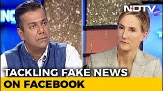 Tackling Fake News: Facebook's Global Head Of Safety Speaks To NDTV