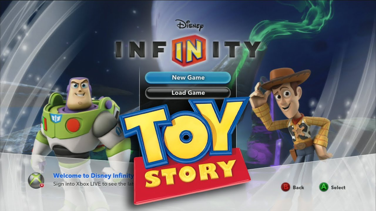 Let's Play Disney Infinity TOY STORY IN SPACE Playset ...