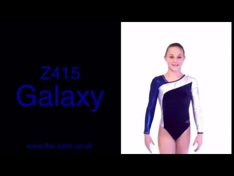 Galaxy Long Sleeved Gymnastics Leotard