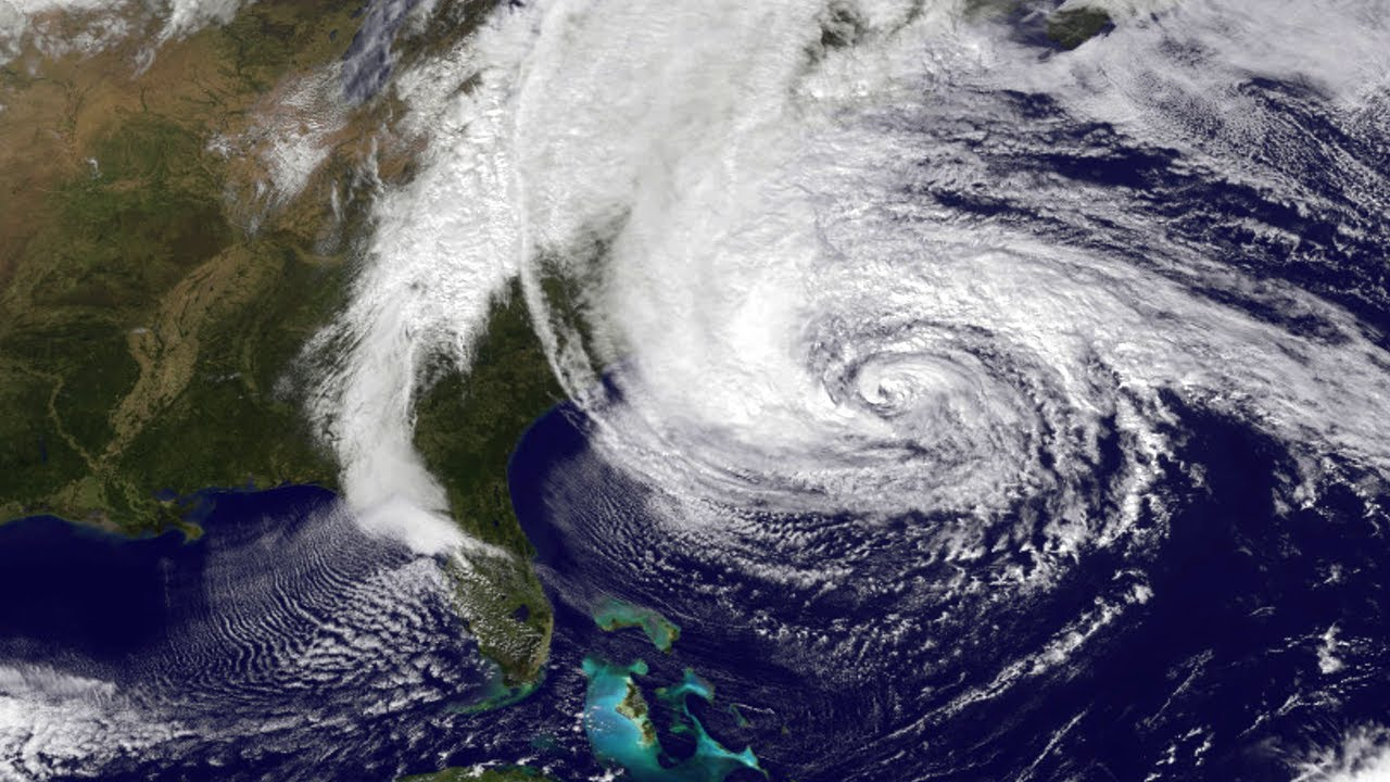 hurricane sandy from space station - photo #18
