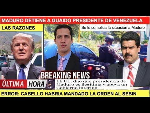 La verdad de la detención de Maduro a Juan Guaidó