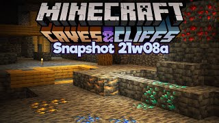 No More Easy Diamonds? ▫ Minecraft 1.17 Snapshot 21w08a ▫ Caves & Cliffs Update