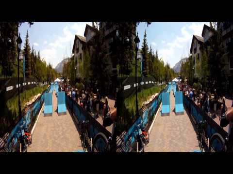 GoPro 3D: MTB Freeride 2011 Teva Mountain Games - Dual Course Preview