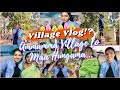 Our Village Vlog!?|Ammamma Village lo maa first day Hungama|Fun time with Grandma,Packing & More||