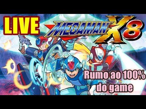 LIVE de Megaman X8: do começo até o FIM!/Yuri Games Br