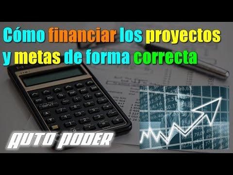 Cómo financiar los proyectos y metas de forma correcta | Ingeniero Gabriel Salazar