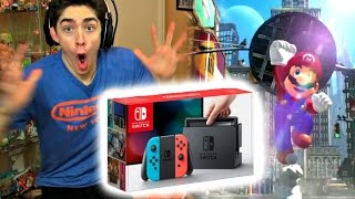 NINTENDO SWITCH LIVE PRESENTATION REACTION HIGHLIGHTS!! (*INSANE FREAKOUT*)