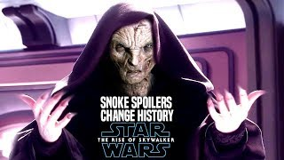 The Rise Of Skywalker Snoke Spoilers Change History! (Star Wars Episode 9)