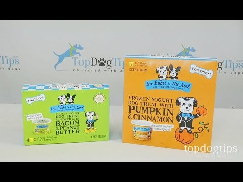 The Bear & The Rat Frozen Yogurt Dog Treats