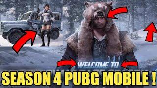 Pubg Mobile Season 4 Release Date ! 0.9.5 Pubg Mobile New Update ! Season 4 Royal Paas Reward