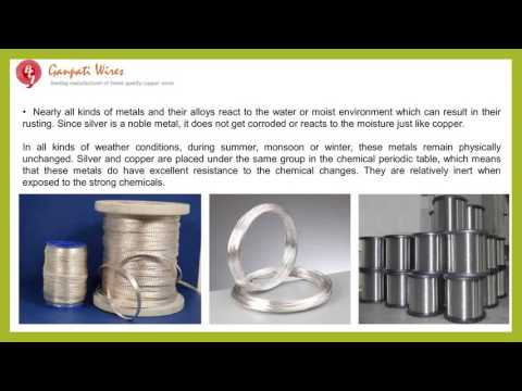 The Aspects and Advantages of the Silver Plated Copper Wires