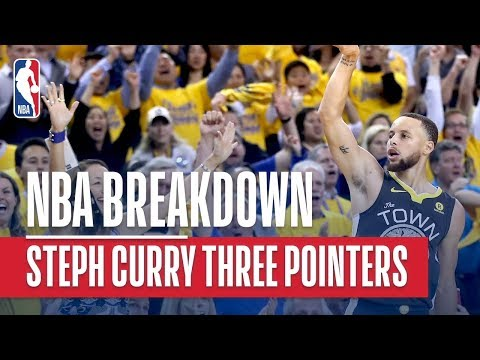 NBA Breakdown: Best of Steph Curry Three Pointers