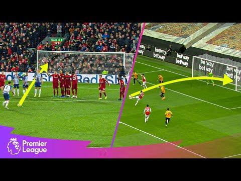 CHEEKY Lewis Dunk free-kick & SWEET Bukayo Saka strike | Classic goals from Matchweek 22's fixtures