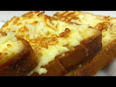 СУПЕР ВКУСНЫЙ Завтрак!! ГРЕНКИ с Сыром и яйцом