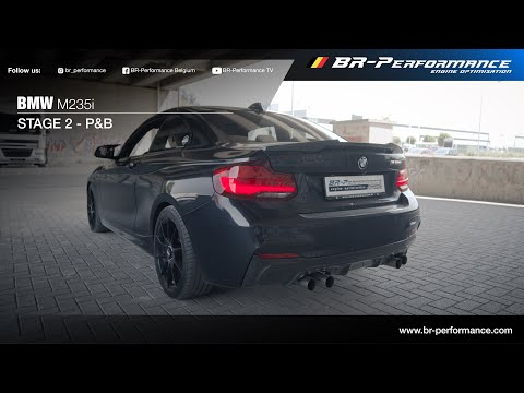 BMW M235i / Stage 2 By BR-Performance / Loud Pops & Bangs!