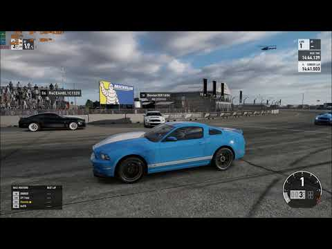 KING OF THE HILL #12 FORZA 7 FORD 2013 GT500