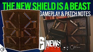 New Shield Gameplay & Patch Notes - Test Server - 6News - Rainbow Six Siege