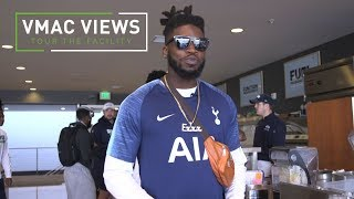 VMAC Views - Neiko Thorpe Tours the Cafeteria