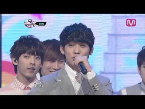 BTOB_두번째고백(Second Confession by BTOB@Mcountdown 2013.4.18)