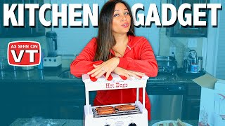 Vintage Hot Dog Roller | Kitchen Gadget Review | As Seen on Vivian Tries