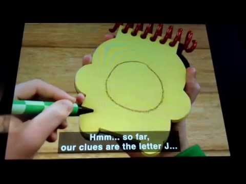 blues clues how to draw red
