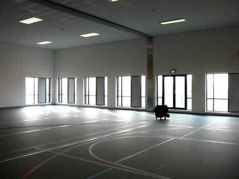 Nagalmtijdmeting Sportzaal