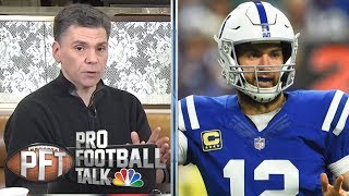 Andrew Luck, Frank Reich leading Indianapolis Colts' resurgence | Pro Football Talk | NBC Sports