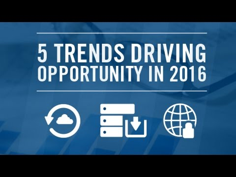 5 Trends Driving Opportunity in 2016