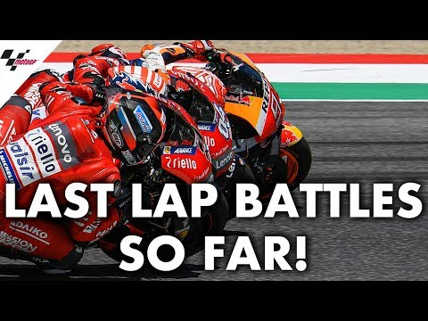 Every last lap battle from the 2019 MotoGP? season so far!