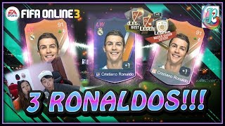 ~Packed 3 Cristiano!!!~ Masters Season Lottery Opening - FIFA ONLINE 3 - YouTube