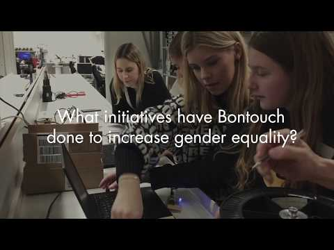 Bontouch explains their participation in IGE (Introduce a Girl to Engineering)