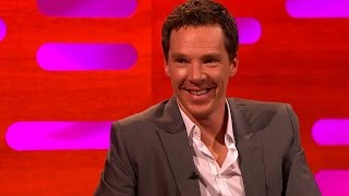 "Benedict Cumberbatch can't say ""Penguins"" - The Graham Norton Show: Series 16 Episode 5 - BBC One"