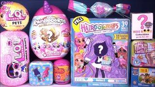 Hairdorables 3 LOL Surprise DOLLS Toys Unboxing PETS RainBoCoRnS Under Wraps