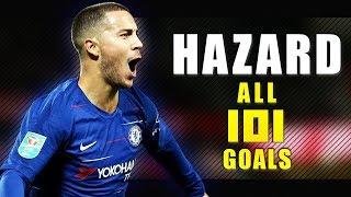 Eden Hazard - All 101 Goals for Chelsea - 2012-2019