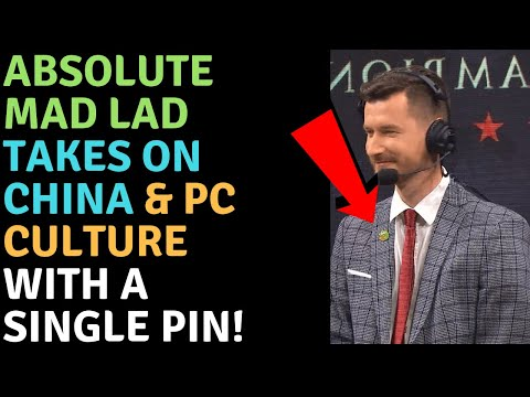 DOTA 2 Caster FORCED To Change SHOCKING Pin!  A Hero Is Born