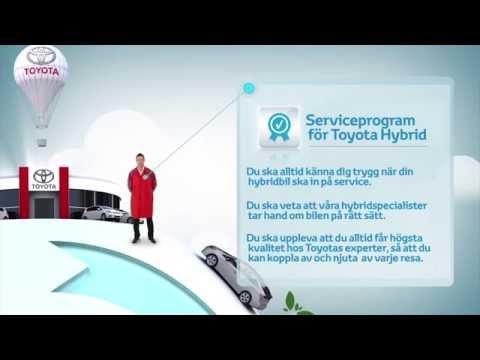 Toyota Hybridservice - Specialkompetens inom hybridteknik