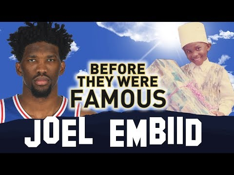 JOEL EMBIID   Before They Were Famous   The Process   Philadelphia 76ers