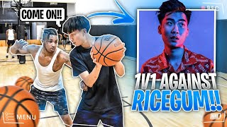 We Almost Fought!! DDG vs. RiceGum!! **FULL BASKETBALL GAME**