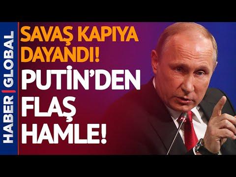 Putin, Ukrayna ve NATO'ya Bu Hamle ile Cevap Verdi!
