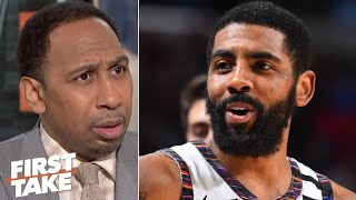 Stephen A. is 'incredibly disappointed' in Kyrie Irving | First Take