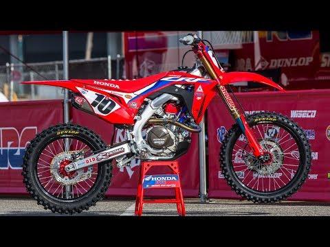 Inside Justin Brayton's Factory HRC Honda CRF450R - Motocross Action Magazine