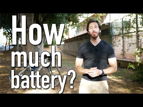 How much battery does your e-bike need?